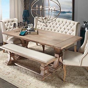 Get The Look Neutral Territory Dining Room