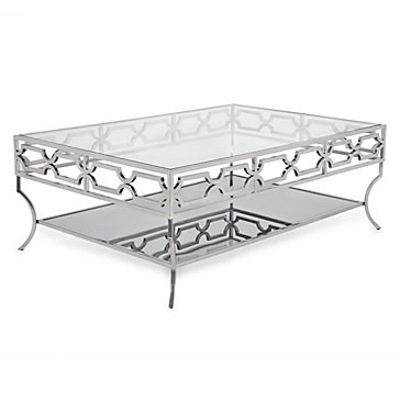 Glass Coffee Table Polished Amp Stylish Abigail Table Z