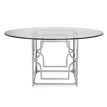 Abigail dining table charlotte round dining room for Z gallerie dining room table