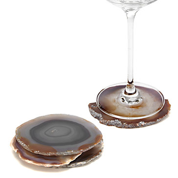 Agate Coaster - Set of 4 - Terra
