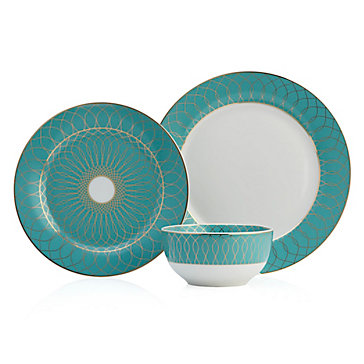 Amelie Dinnerware Sets Of 4 Sophie Glam Dining Room