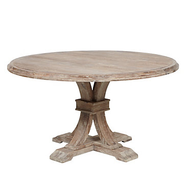 Round Dining Table round dining table | archer collection | z gallerie