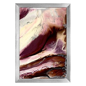 Aubergine Rain - Original Art
