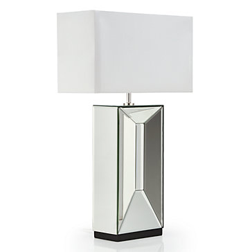 Axis Mirrored Table Lamp Simplicity Entryway Inspiration