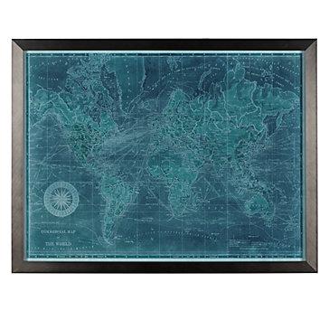 Azure World Map
