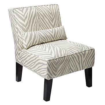 Bailey Accent Chair - Zebra | Chairs | Living Room | Furniture | Z