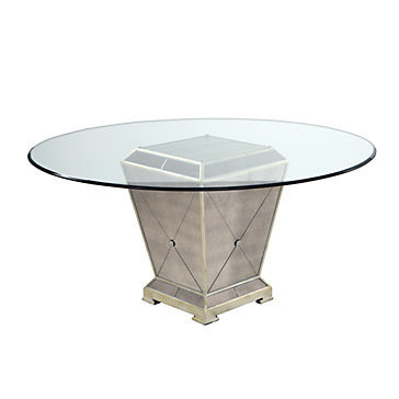 Borghese Round Dining Table Amethyst Borghese Dining Room