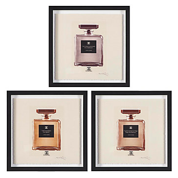 Bouteilles De Parfum Set Of 3 Ava Jules Bedroom
