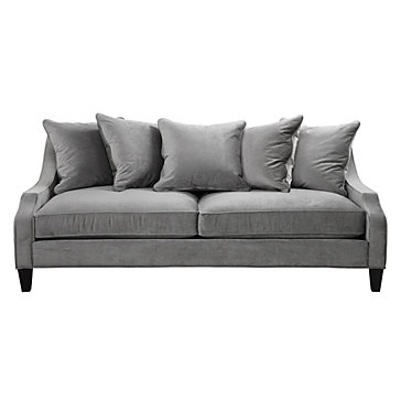 Brighton Sofa Charcoal Made In The Usa Furniture