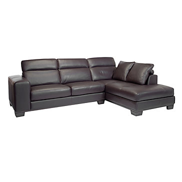Brooklyn Sectional - Chocolate | Sectionals | Living Room