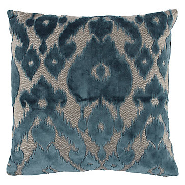 Cadiz Pillow 24 Quot Cerulean Milan Living Room Inspiration