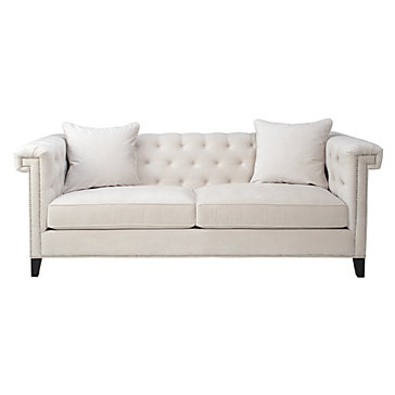 Charleston sofa sofas sofas sectionals living room for Z gallerie living room chairs
