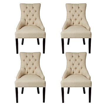 Chic combo 4 marseilles chairs dining room furniture for Z gallerie dining room chairs
