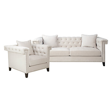 chic combo charleston sofa chair sofa combos chic combos