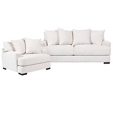 chic combo stella sofa chair