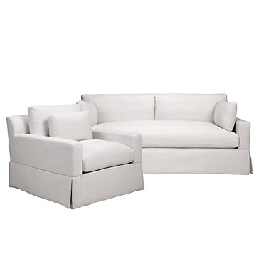chic combo theodore natural sofa chair sofa combos chic combos