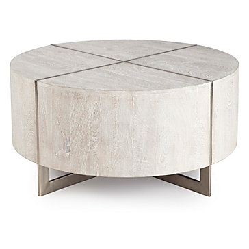 Clifton Round Coffee Table Parker Neutral Living Room