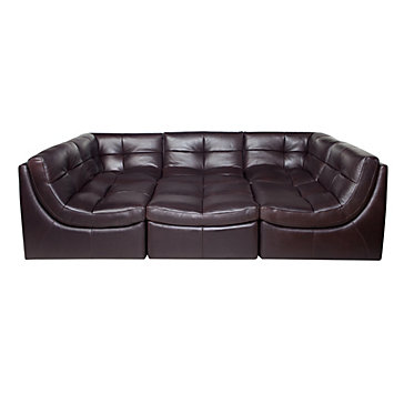 Cloud Modular Sectional - Chocolate | Sectionals | Living Room
