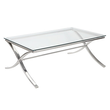 Coffee tables cosmopolitan coffee table a sleek for Coffee tables z gallerie