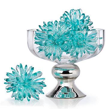Crystal Flower Sphere Vase Fillers Floral Plants