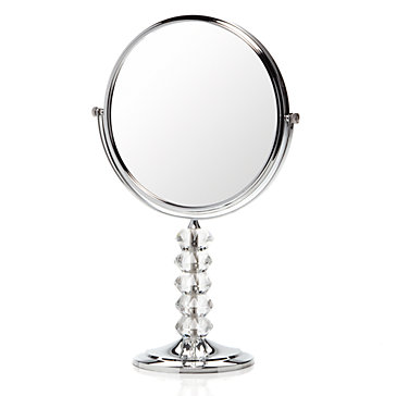 Crystal stand vanity mirror z gallerie for Mirror z gallerie