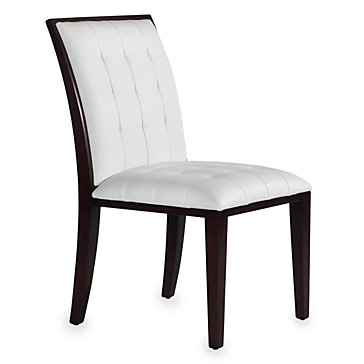 Dakota side chair dakotagold dining dining room for Z gallerie dining room chairs