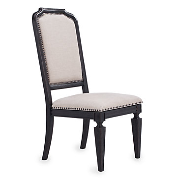 Dalton side chair dining chairs dining room for Z gallerie dining room chairs