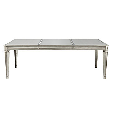 Empire dining table modern dining2 dining room for Z gallerie dining room table