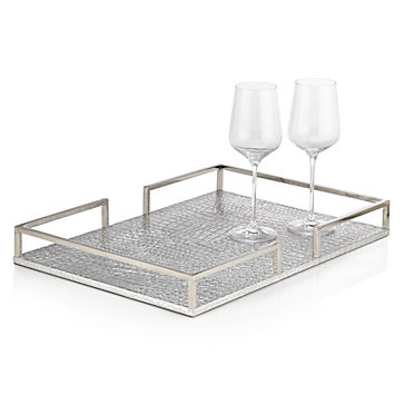Everglades Metal Tray Axis Modern Luxe Dining Room