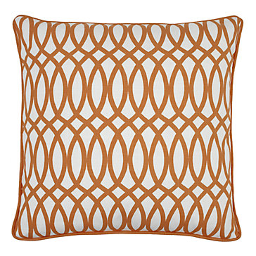 "Geo Pillow 22"" - Sunset"