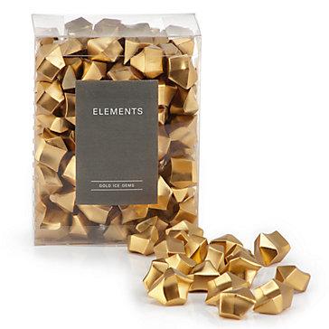 Gold Ice Gems