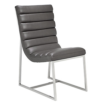 Gunnar side chair modern styles z gallerie for Z gallerie dining room chairs