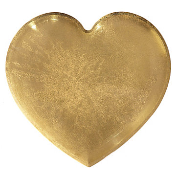 Heart Of Gold Paperweight Books Amp Stationery Novelty