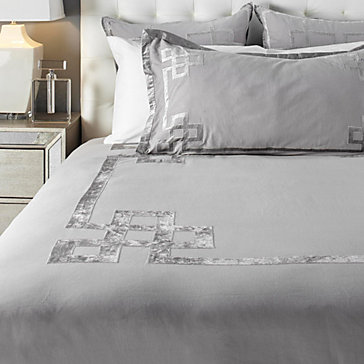 Hudson Bedding Steel Sapphire Ava Bedroom Inspiration