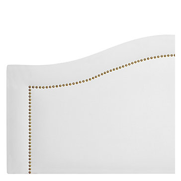 Hudson Headboard - Bella White