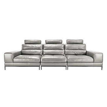 Jude Sectional Light Grey Modern Styles Z Gallerie