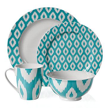 Kenza Dinnerware - Aquamarine