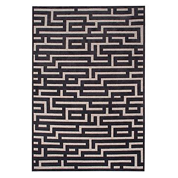 Labyrinth Rug - Charcoal