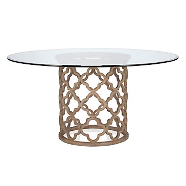 Layla Dining Table Quatrafoil Z Gallerie