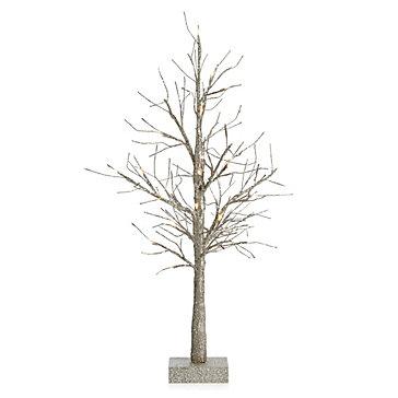 LED Glitter Tree 3'