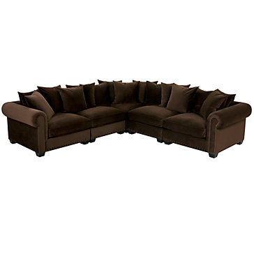 Linden Sectional | Sectionals | Living Room | Furniture | Z Gallerie