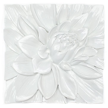 Lotus Flower Wall Art lotus flower art | affordable wall art | z gallerie