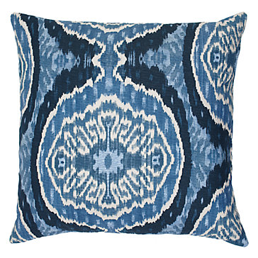 "Masala Pillow 24"" - Indigo"
