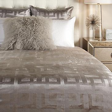 Ming velvet bedding sapphire ava bedroom inspiration for Z gallerie bedroom inspiration