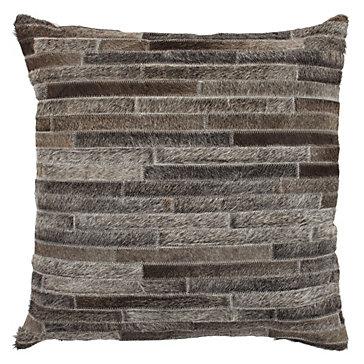 Throw Pillows Z Gallerie : Montara Hair On Hide Pillow 22