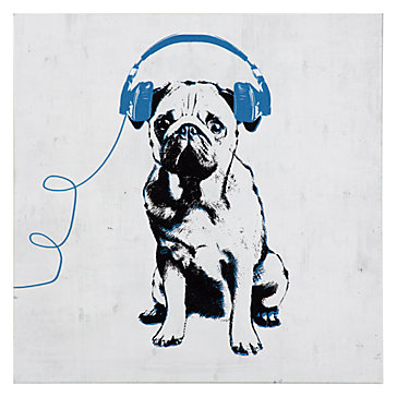 Music Love Pug