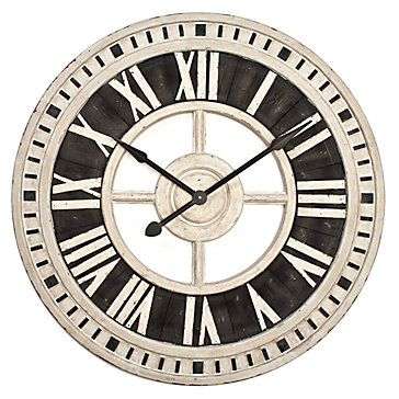 Nantucket Wall Clock Wall Decor Mirrors Amp Wall Decor