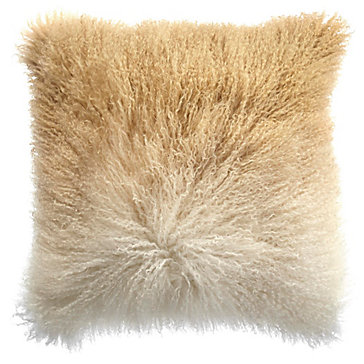 Ombre Mongolian Pillow 22 Quot Luxe For Less Bedding