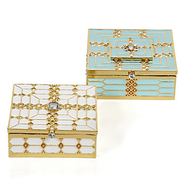 Zgallerie patricia and gloria jewelry boxes 24 95 26 95