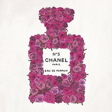 Perfume Bottle Rose Floral